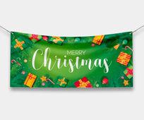 Christmas Vinyl Banner