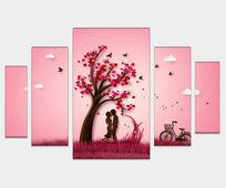 Romantic Gatorboard Printing