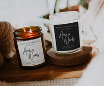 Candle Roll Labels