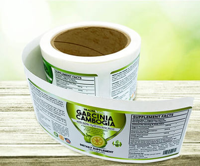 Double Sided Roll Label Printing