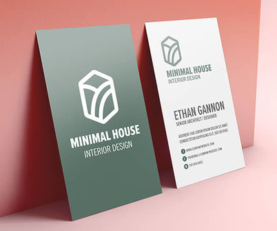 Silk Laminated Business Card