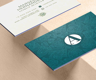 Triple Layer Business Card