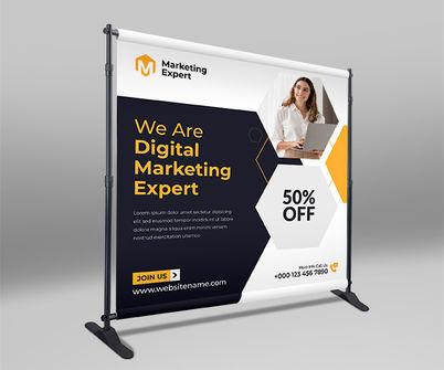 Backdrop Banner Printing