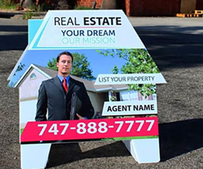 Real Estate Open House Sign